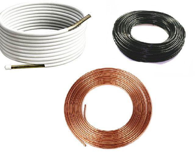 Трубка мідна  сталева і термопластикова