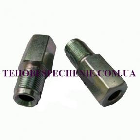 Гайка-штуцер под трубку d 6,0мм М12х1 (удлиненная) сталь
