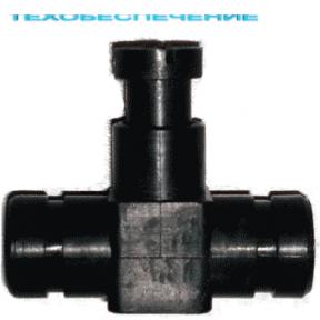 Дозатор газу одинарний 19-19 пластик