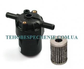 Фільтр тонкого очищення газу TIPO 97 12х12 (пластиковий) розбірний зі змінним картриджем, Італія