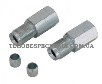 Комплект крепежных аксессуаров для вентиля баллона под тр.d.6,0 мм ,Tomasetto