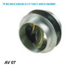 Защитный клапан AV07 D-60мм., резина в резину