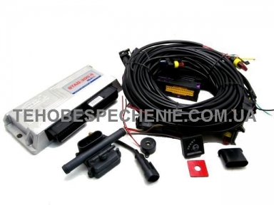 Комплект електроніки системи EURO 4, STAG-300, ISA 2, 4-х цил.
