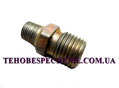 Перехідник-з'єднувач трубки d.6х8, сталевий