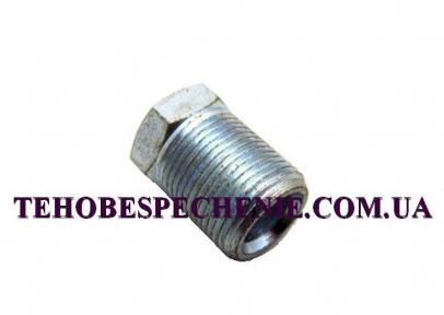 Гайка-штуцер під трубку d. 8,0 мм. (сталь)