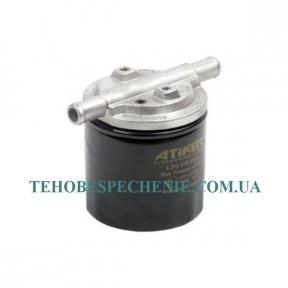 Фильтр  тонкой очистки газа с отстойником ASF SF12 Dn  12х12 (алюминиевый) со сменным фильтром, ATIKER