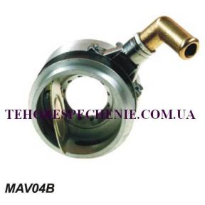 Змішувач з захисним клапаном в фільтр D-70мм. (пропан)