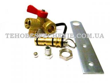 Наповнювальний газовий клапан CNG (прапорцевий) з заправним пристроєм, тип EUR / UKR VALC450, EMER (Італія)