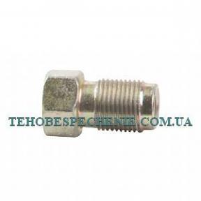 Гайка-штуцер трубки d. 6мм., М12х1, стальная, ATIKER