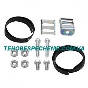 Комплект крепления баллона ATIKER (лента в ПВХ-2 шт,скоба крепления ленты-2шт,гайки,болты)0,9х30х1,3м.