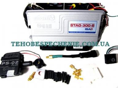 Комплект електроніки системи EURO 4, STAG-300, ISA-2, 6-ти цил.