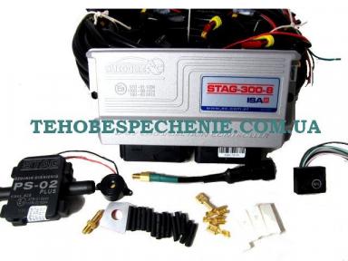 Комплект електроніки системи EURO 4, STAG-300, ISA-2, 8-ми цил.