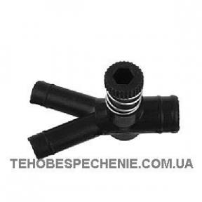 Дозатор газу 16х12х12 пластик з 1-м регулюванням (ATIKER)